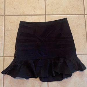 Forever 21 Satin -ey Mini Black Skirt 2020 Small